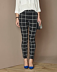 Check Slim Leg Trouser