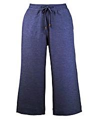 Linen Mix Crop Trousers Regular