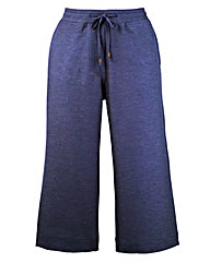 Linen Mix Crop Trousers