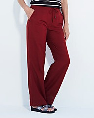 Linen-Mix Trousers - Extra Short