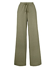 Linen Mix Trousers - Short