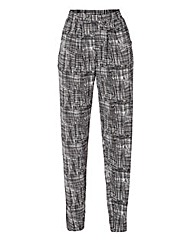 Harem Jersey Trouser