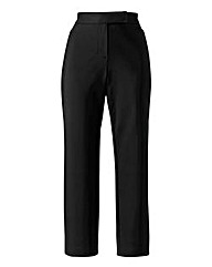 Cotton Sateen Ankle Grazer Trouser 29in