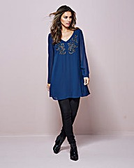 Embellished Tunic dress
