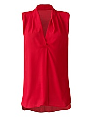 Sleeveless V Neck