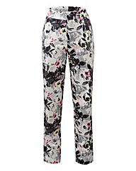 Cotton Sateen Ankle Grazer Trouser 27in