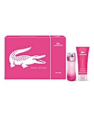 Lacoste Touch Of Pink Set & Free Watch