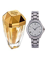 Eau My Gold 80ml EDT & Free Watch