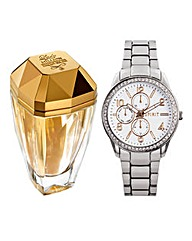 Eau My Gold 50ml EDT & Free Watch