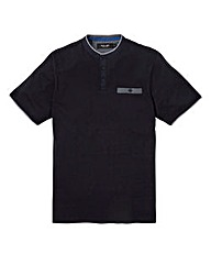 Black Label Eaton Grandad T-Shirt R