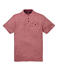 Black Label Eaton Grandad T-Shirt Long