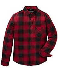Label J Flannel Shirt Long