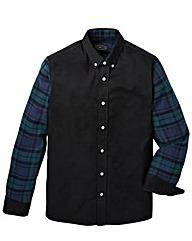 Label J Blocked Check Shirt Regular