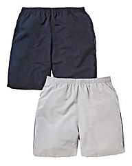 JCM Sports Pack of 2 Woven Shorts