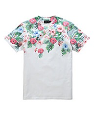 Label J Floral Fade T-Shirt Regular