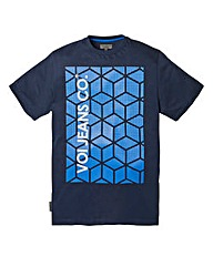 Voi Cube Navy T-Shirt Long