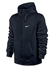 Nike Navy Swoosh Full Zip Hoodie