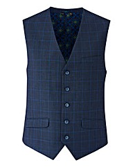 WILLIAMS & BROWN LONDON Check Waistcoat