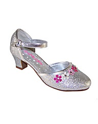 Sparkle Club Silver Glitter Shoes