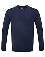 Tog24 Plateau Mens Cashmere Mix Jumper