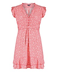 Samya Bird And Floral Dress