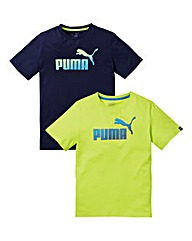 Puma Hero 2 Pack T-Shirts