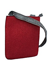 Urban Country Felt Cross Body Bag