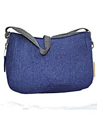 Urban Country Felt Large Zip Shoulderbag