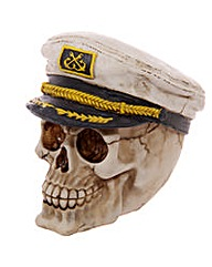 Novelty Sailor Hat Skull Ornament
