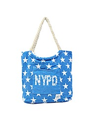 New Rebels NYPD Canvas Shopper