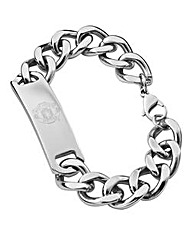 Stainless Steel I.D Football Bracelet