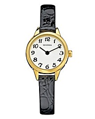 Sekonda Ladies Black Strap Watch