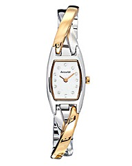 Accurist Ladies Two-tone Bangle Watch