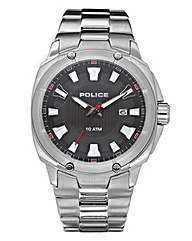 Police Gents Bracelet Date Watch