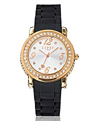Lipsy Ladies Glitzy Bezel Watch