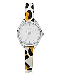 Oasis Animal Print Strap Watch