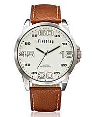 Firetrap Gents Tan Strap Watch