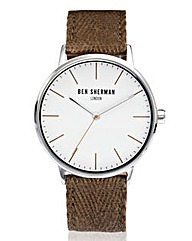 Ben Sherman Fabric Strap Watch
