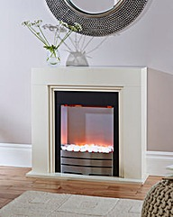 Walton Ivory Fireplace Suite