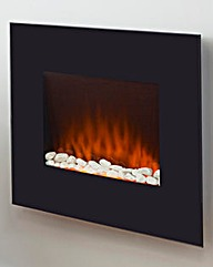 Warmlite Wall Mounted Glass Fire
