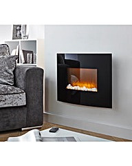 Warmlite Wall-Mounted Curved Fire