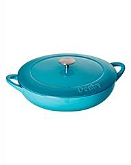Denby 24cm Round Casserole Dish Azure