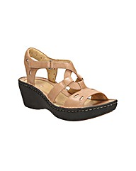 Clarks Womens Un Stern Wide Fit