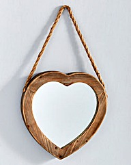 Mason Hanging Heart Mirror