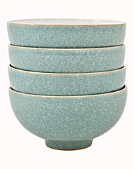Denby Elements set of 4 Rice Bowls