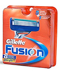 Gillette Fusion Manual Razor Blades 8`s