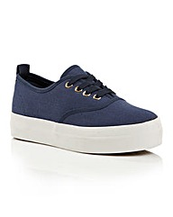 Dolcis Esta ladies plimsoll pumps