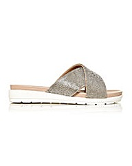 Moda in Pelle Nilde Sandals