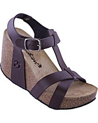 Brakeburn Leather Wedge