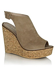 Daniel New Mexico Beige Wedge Sandal